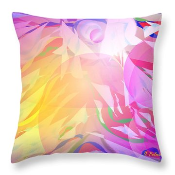 All I Need Is An Angel Throw Pillow