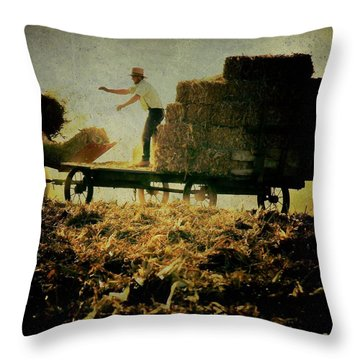All In A Day's Work Throw Pillow