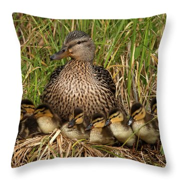 All In For The Shot Throw Pillow