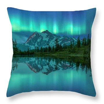 All In My Mind Throw Pillow