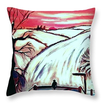All Is Calm..... Throw Pillow