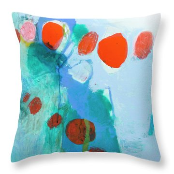 All Kinds Of Delight Throw Pillow