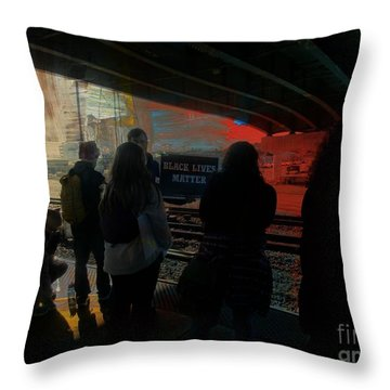 All Lives Matter Throw Pillow