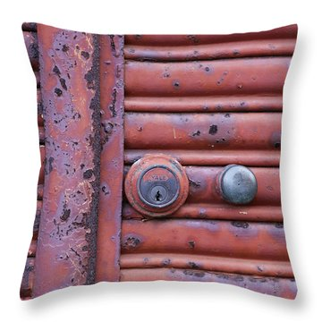 All Locked Up Throw Pillow