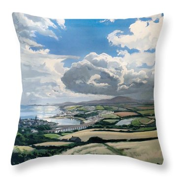 All Of England Throw Pillow