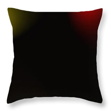 All Of The Colors Of Light Throw Pillow by Saad Hasnain