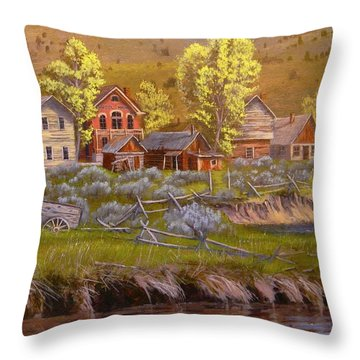 All Played Out Throw Pillow