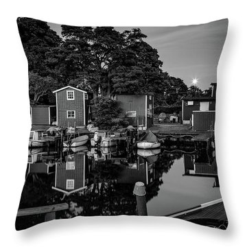 All Quiet Throw Pillow