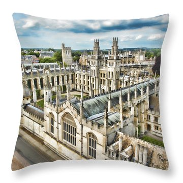 All Souls College - Oxford Throw Pillow
