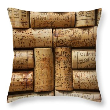 Grand Cru  Throw Pillow by Anthony Jones