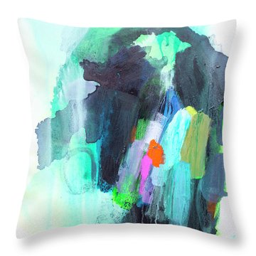 All The Creatures In My World Throw Pillow