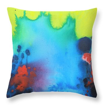 All The Noise Throw Pillow