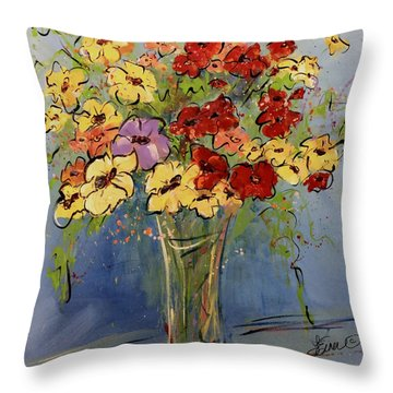 All The Pretty Ladies Throw Pillow