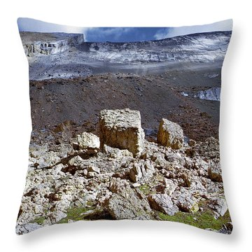 All Things Rock Throw Pillow