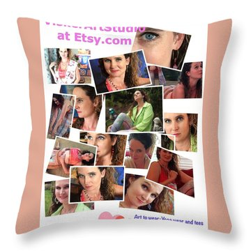 All Things Theresa Throw Pillow