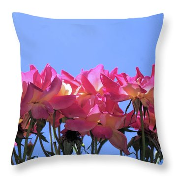 All Together Now Throw Pillow