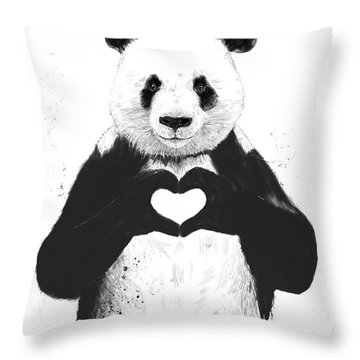 Panda Throw Pillows