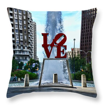 All You Need Is Love Throw Pillow by Paul Ward