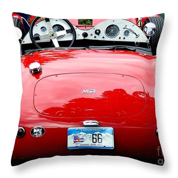 Allard 2 Throw Pillow