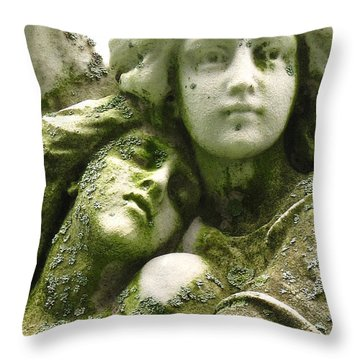 Allegorical Theory Throw Pillow