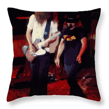 Allen And Ronnie Winterland 1 Throw Pillow
