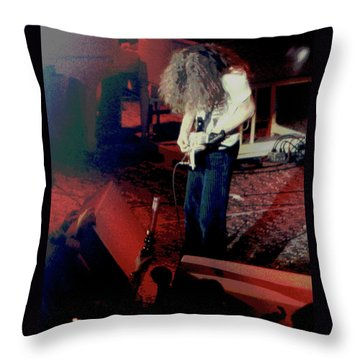 Throw Pillow featuring the photograph A C Winterland Bong 2 by Ben Upham