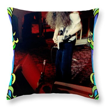 Throw Pillow featuring the photograph A C Winterland Bong 3 by Ben Upham