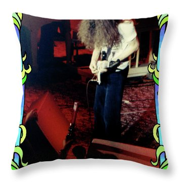 Throw Pillow featuring the photograph A C Winterland Bong 4 by Ben Upham