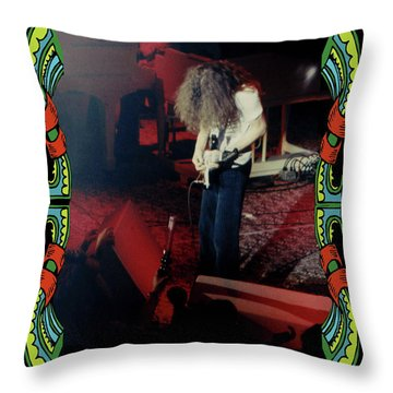 Throw Pillow featuring the photograph A C Winterland Bong 5 by Ben Upham