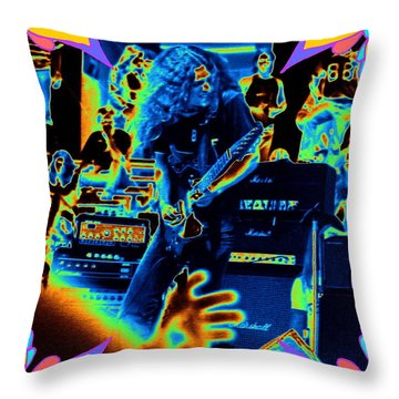 Allen Cosmic Free Bird Oakland 2 Throw Pillow