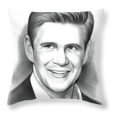 Allen Leech Throw Pillow