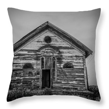 Allens Grove Throw Pillow by Ray Congrove