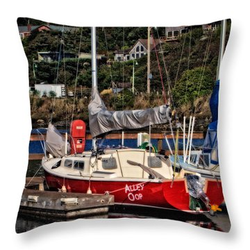 Alley Oop Throw Pillow