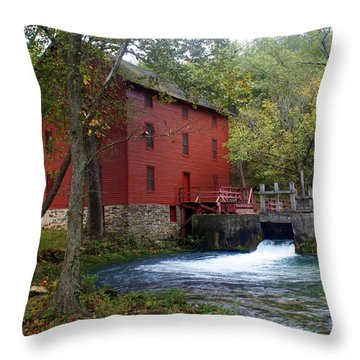 Alley Sprng Mill 3 Throw Pillow