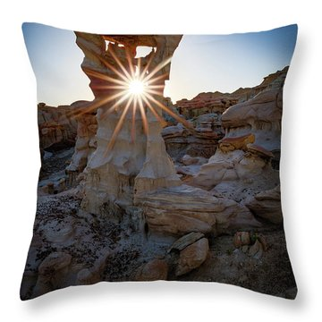Allien's Throne Throw Pillow