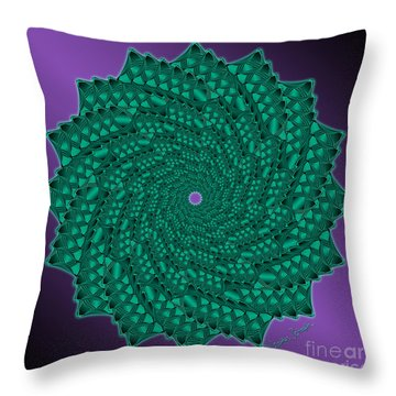 Alligator-dragon Tail Throw Pillow