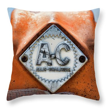 Allis-chalmers Vintage Logo Throw Pillow