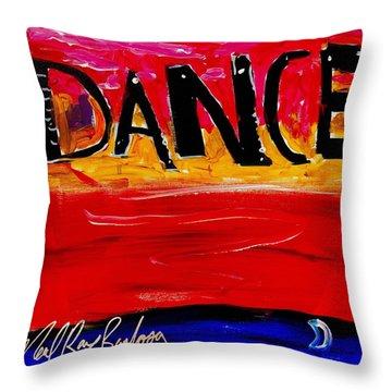 Allways Dance Throw Pillow