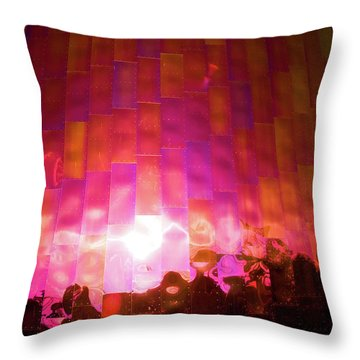 Almost Alone Throw Pillow