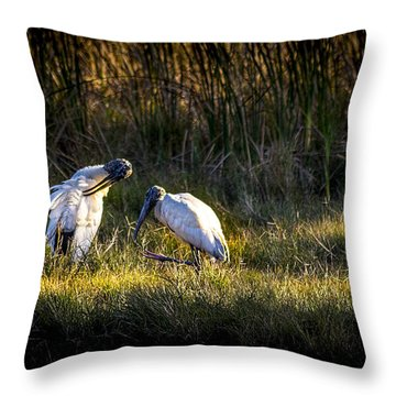 Almost Bed Time Throw Pillow