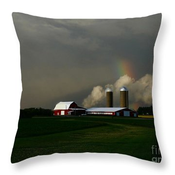 Almost Down Ll Throw Pillow