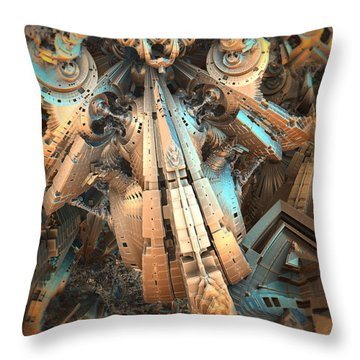 Almost Glass Throw Pillow