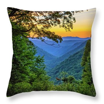 Almost Heaven - West Virginia 3 Throw Pillow