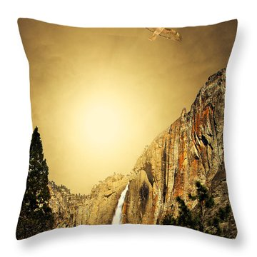 Almost Heaven Throw Pillow