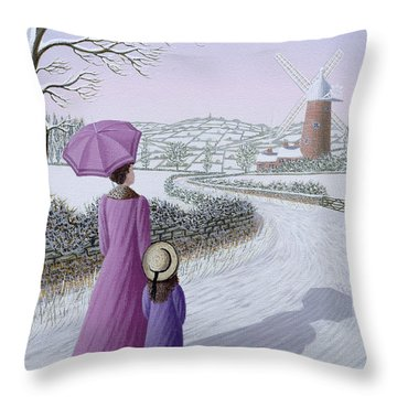 Mother Road Throw Pillows