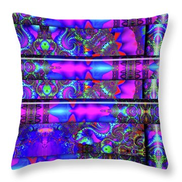 Throw Pillow featuring the digital art Almost Home by Robert Orinski