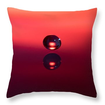 Almost Kissing Throw Pillow