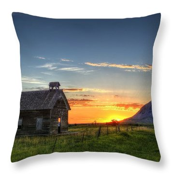 Almost Sunrise Throw Pillow
