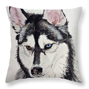 Almost Wild Throw Pillow