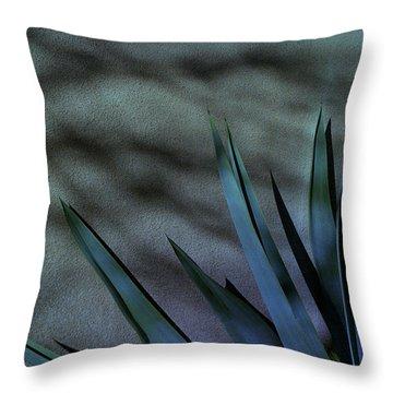 Aloe Cool Throw Pillow